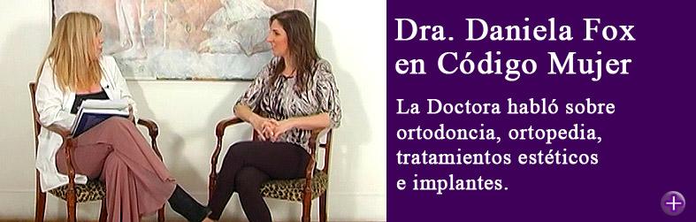 La Doctora Daniela Fox en Código Mujer