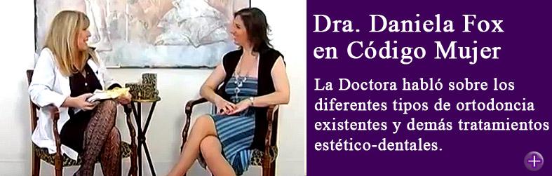Doctora Daniela Fox en Código Mujer