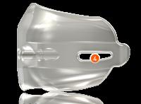 Base con almohadillas de aire-para aperturas de la mordida variable y una gentil descompresión de la articulación TM
